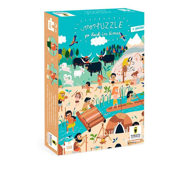 Pirouette cacahouete - Mon puzzle - Retour à la préhistoire - Dès 6 ans