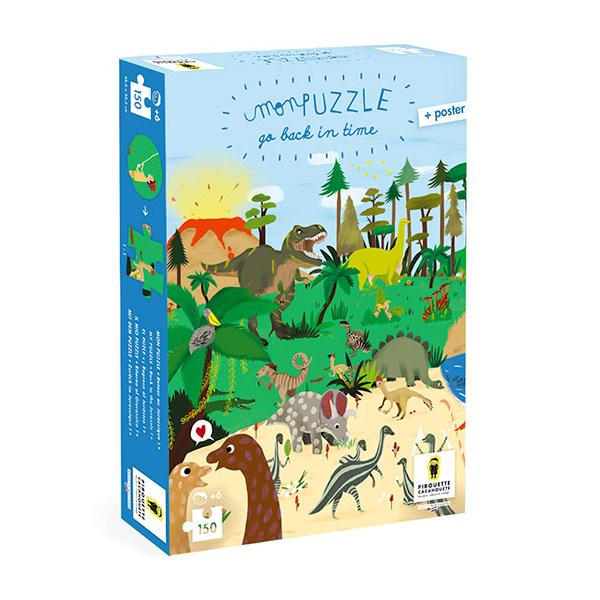 Pirouette cacahouete - Mon puzzle - Retour au jurassique - Dès 6 ans