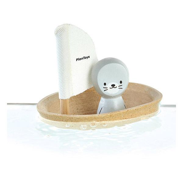 Plan Toys - Bateau phoque pour le bain - Dès 12 mois