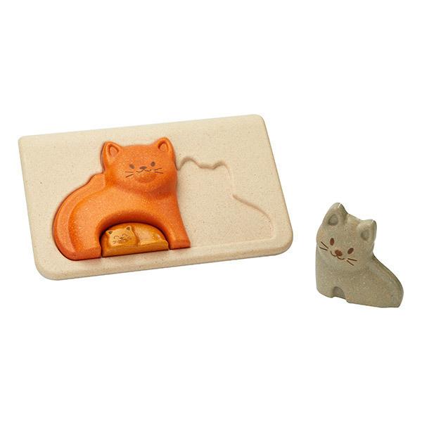 Plan Toys - Mon 1er puzzle chat - Dès 18 mois