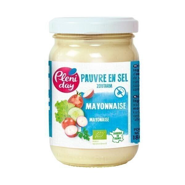 Pléniday - Mayonnaise pauvre en sel 180g