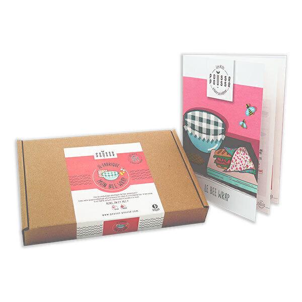 Pousse Pousse - Kit DIY Mon Bee wrap