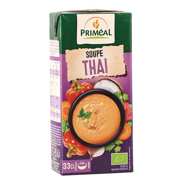 Priméal - Soupe thaï 33cl