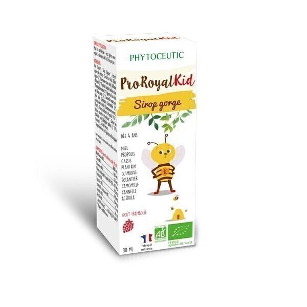 ProRoyal BIO - Sirop gorge bio à la propolis Spécial Enfant 90ml