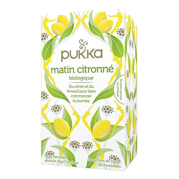 Pukka - Tisane Matin citronné 20 sachets