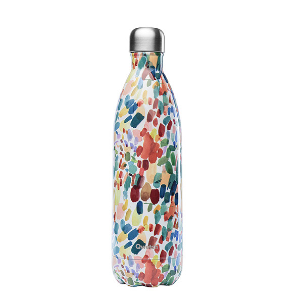 Qwetch - Bouteille isotherme inox Arty 1L