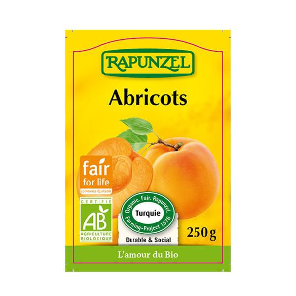 Rapunzel - Abricots entiers dénoyautés 250g