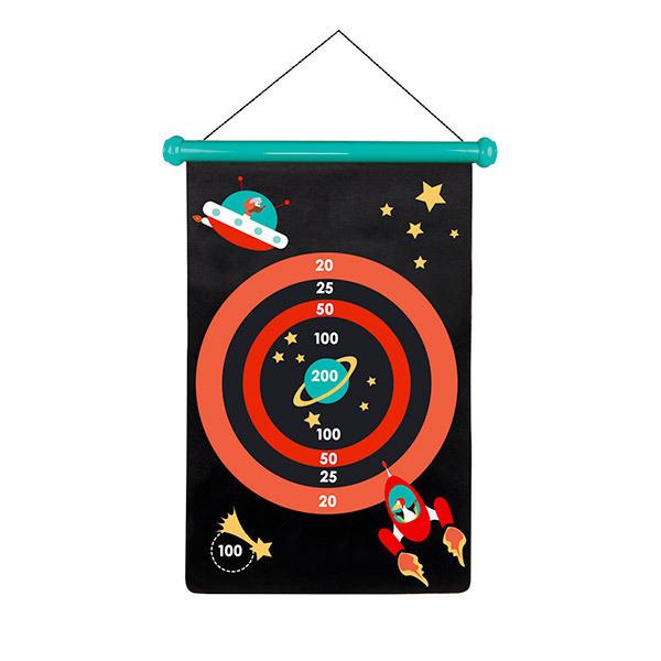 Scratch - Jeu de Fléchettes Magnétiques Espace - Dès 5 ans