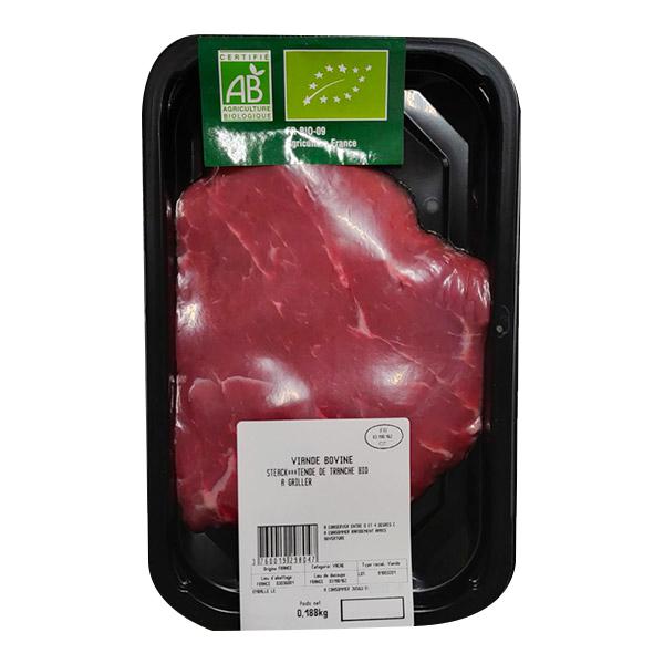 Sicaba - Steak tende de tranche, une pièce 165g