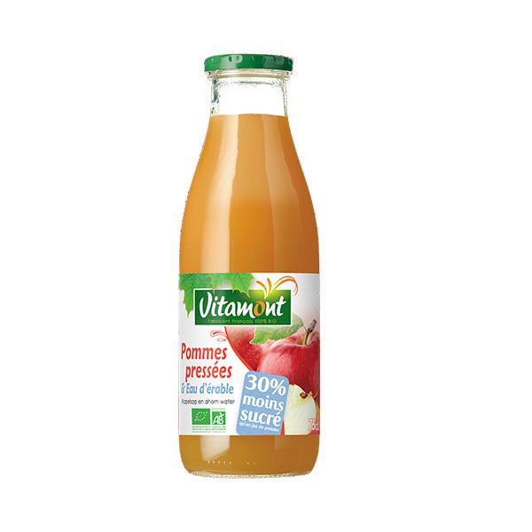 Vitamont - Pommes pressées et eau d'érable 75cl