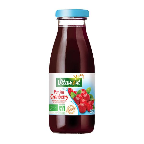 Vitamont - Pur jus de cranberry 25cl