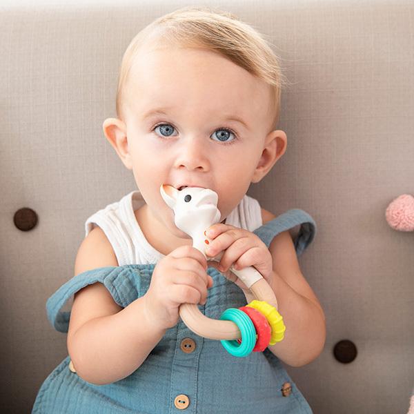 Vulli - Sophie la girafe Hochet Natur'chew So'pure - Dès 3 mois