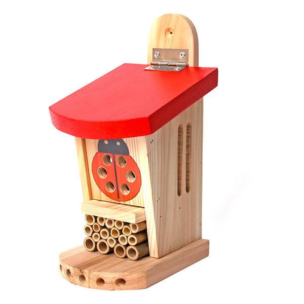 Wildlife World - Pavillon en bois pour coccinelles