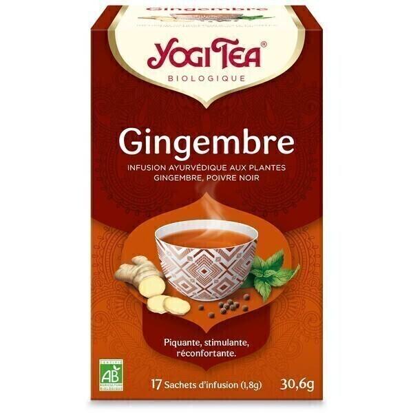 Yogi Tea - Infusion Gingembre Poivre noir 17 sachets