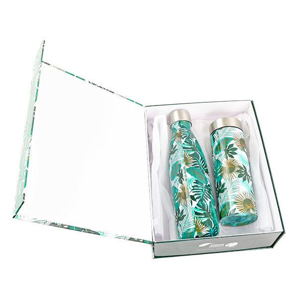 Yoko Design - Coffret Théière et bouteille isothermes Equador
