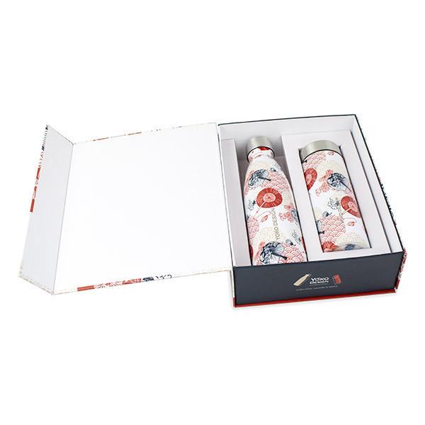Yoko Design - Coffret Théière et bouteille isothermes Japan