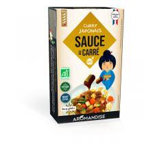 Aromandise - Sauce au carré pour Curry Japonais 90g