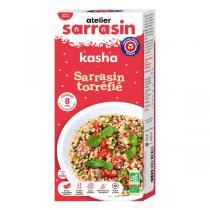 Atelier Sarrasin - Kasha graines de sarrasin torréfiées origine France 400g