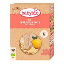 Babybio - Céréales fruits et quinoa 200g - dès 6 mois