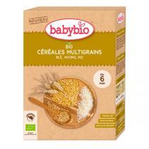 Babybio - Céréales multigraines blé avoine riz 200g - dès 6 mois