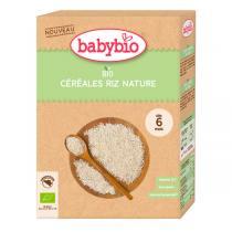 Babybio - Céréales riz nature 200g - dès 6 mois