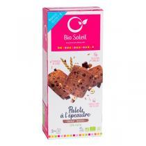 Bio Soleil - Palets chocolat noisettes 100% végétal 165g