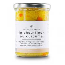 Completeorganics - Chou-fleur au curcuma 320g