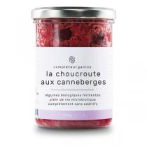 Completeorganics - Choucroute aux canneberges 300g