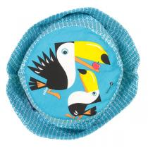 Coq En Pâte - Bob enfant coton bio Toucan bleu Taille L
