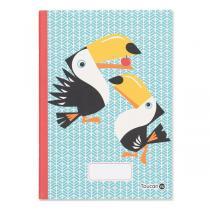 Coq En Pâte - Cahier d'écriture et dessin A5 Toucan 48p