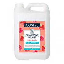 Coslys - Shampoing douche fruits rouges 5L