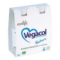 Ecolife food - Vegacol Boisson fermentée à l'avoine nature 2x220ml