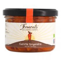 Ferments - Carotte & Gingembre lacto-fermentés 170g
