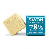 Gaiia - Cube de Savon de Marseille Olive et Coco 250g