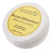 Les Essentiels - Baume Déodorant délicat et non parfumé 60ml