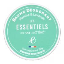Les Essentiels - Baume Déodorant menthe poivrée et lavande fine 60ml