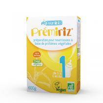 Prémibio - Lot de 3 Premiriz 0 à 6 mois - 600g