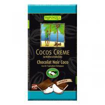 Rapunzel - Chocolat noir fourré noix de coco 100g