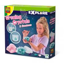 SES Creative - Kit création cristaux et pierres précieuses - Dès 8 ans