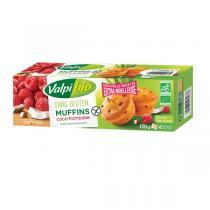 Valpibio - Muffins coco framboise 120g