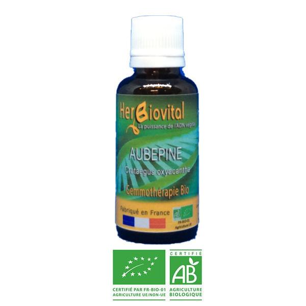 Herbiovital - Aubépine Bio - Le Macérât du cœur