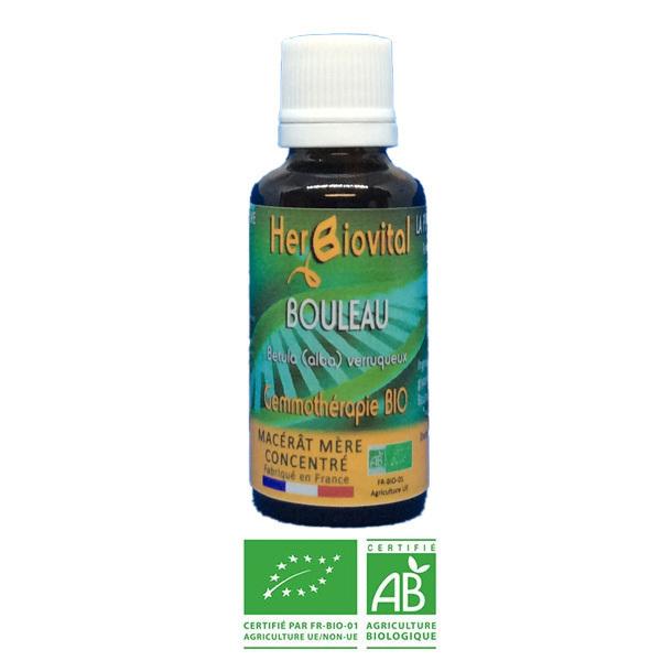Herbiovital - Bouleau Bio - Le Macérât assainisseur