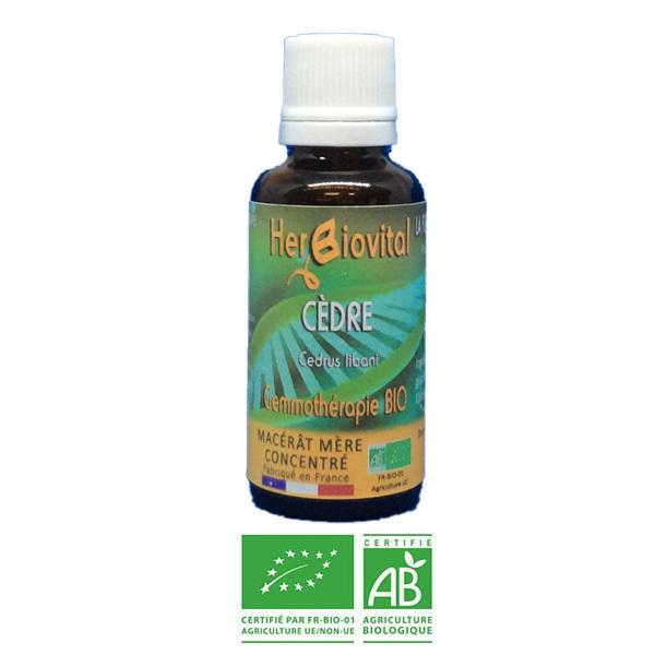 Herbiovital - Cèdre Bio - Le Macérât de la peau