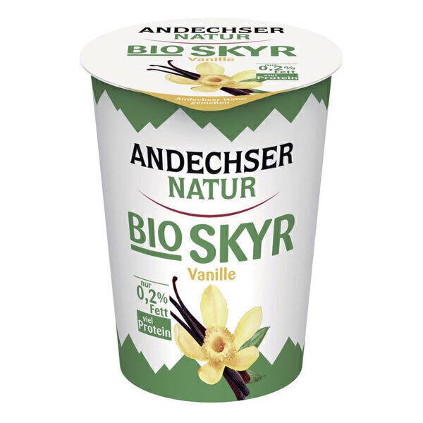 Andechser Natur - Skyr vanille 0,2% 400g