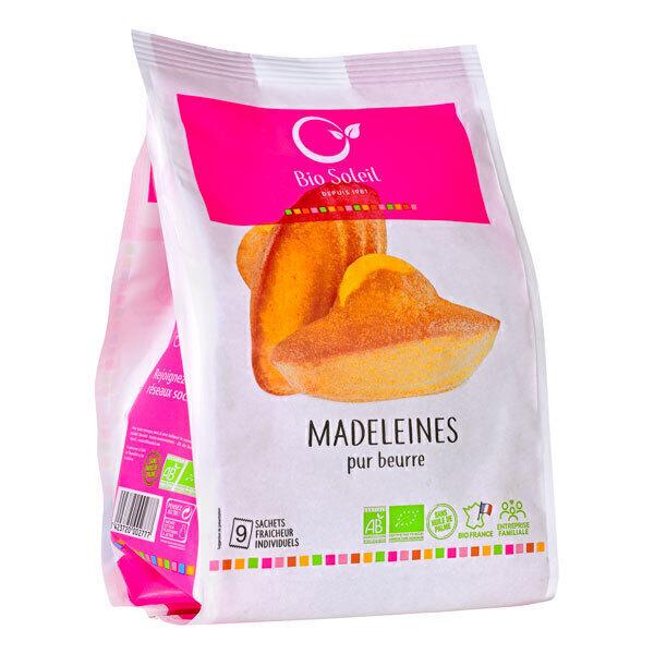 Bio Soleil - Madeleines pur beurre x9 200g