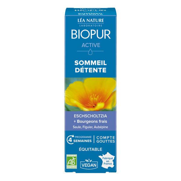 Biopur - Active gouttes Stress Sommeil 30ml