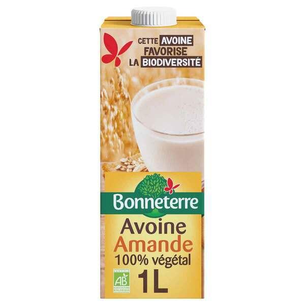 Bonneterre - Boisson avoine amande 1L