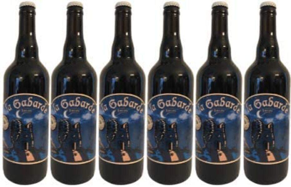Vinaccus - Bière artisanale BIO : LA GABARDE BRUNE 75cl-6btles-7% vol