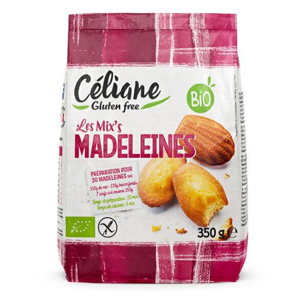 Céliane - Mix madeleines sans gluten 350g
