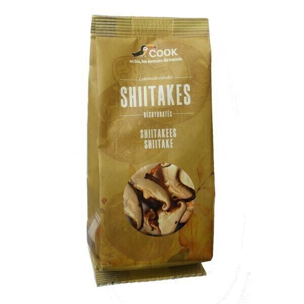 Cook - Shiitakes séchés 20g